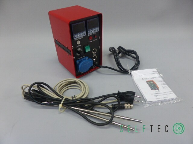 Juchheim Labor-Temperaturregler mit Mikroprozessor LTR 4200 + Fühler PT100 – Bild 1