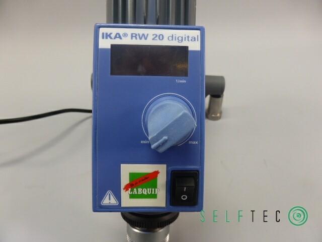 IKA Rührwerk RW 20 digital max. Rührmenge 20l – Bild 4