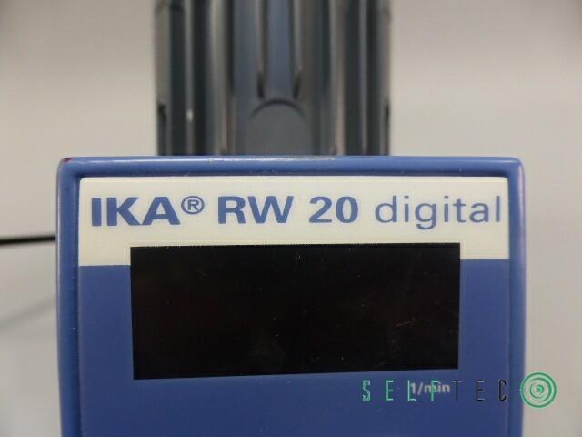 IKA Rührwerk RW 20 digital max. Rührmenge 20l – Bild 6