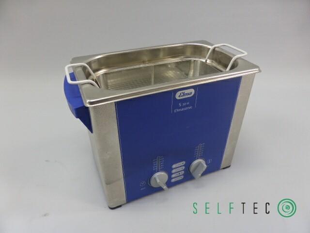 ELMASONIC S30H Ultraschall Reinigungsgerät Reinigungsbad mit Korb – Bild 1