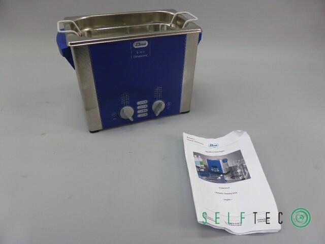 ELMASONIC S30H Ultraschall Reinigungsgerät Reinigungsbad mit Korb – Bild 2