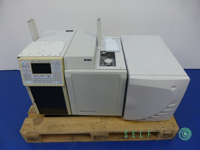 VARIAN Gas Chromatograph CP-3800 3800/3380 Ion Trap Mass Spectrometer 4000MS – Bild 1