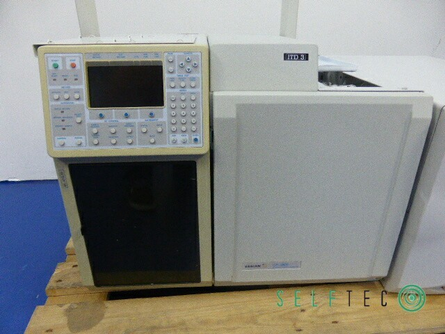 VARIAN Gas Chromatograph CP-3800 3800/3380 Ion Trap Mass Spectrometer 4000MS – Bild 2