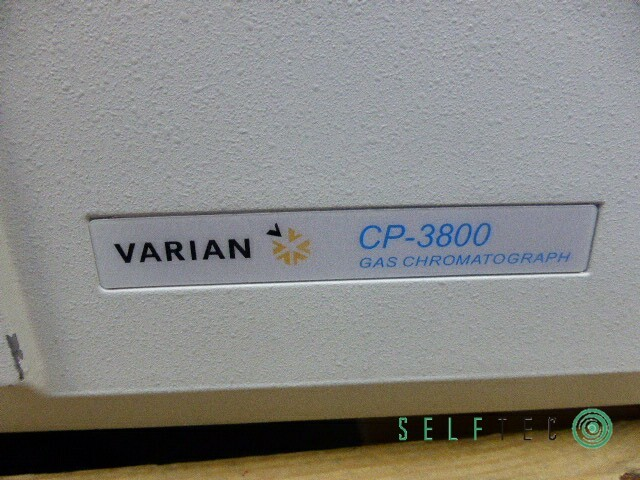 VARIAN Gas Chromatograph CP-3800 3800/3380 Ion Trap Mass Spectrometer 4000MS – Bild 5