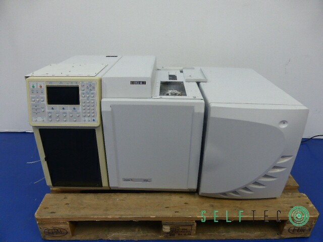 VARIAN Gas Chromatograph CP-3800 3800/3380 Ion Trap Mass Spectrometer 4000MS #2 – Bild 1
