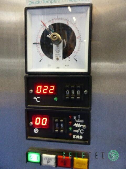 TECNOMARA Tisch-Autoklav 70 Liter TECNOCLAV 50 – Bild 4