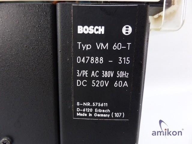 Bosch Versorgungs Modul VM 60-T Nr. 047888-315  Hover