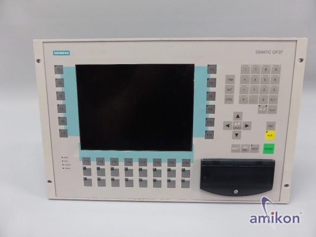 Simens Simatic S7 Operator Panel OP37 6AV3637-1ML00-0BX0 6AV3 637-1ML00-0BX0 A11