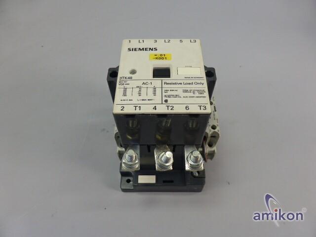 Siemens Schütz 3 polig 140A 3TK4822-0DB4  Hover