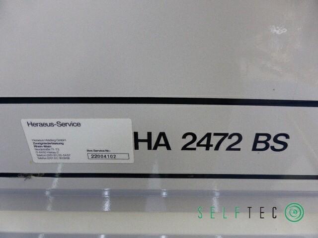 Heraeus Reinraumwerkbank HA 2472 BS – Bild 5