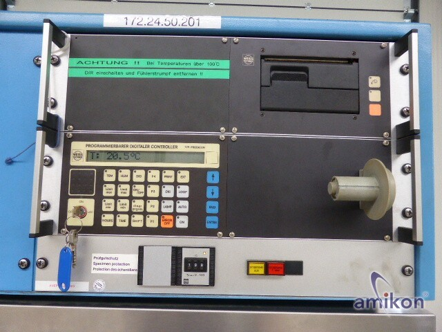 Weiss Umwelttechnik Klima-Prüfschrank 1000SB/+10JU/40DU 1013 Liter -40...+180°C  Hover