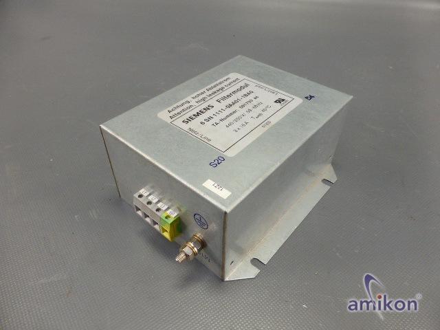 Siemens Simodrive 611 Netzfilter 6SN1111-0AA01-1BA0