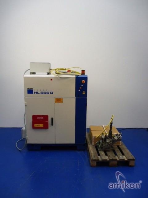 Trumpf HAAS Laser HL 556 D Laseranlage,Laserkopf und Ersatzleitung