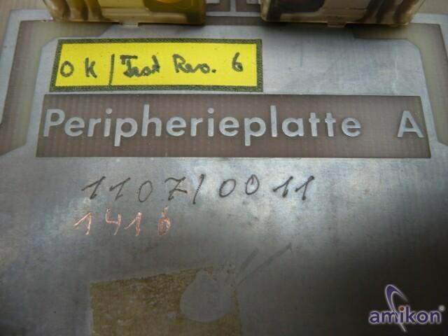 Gildemeister Peripherieplatte A Id-Nr. 170--43-0402/000  Hover