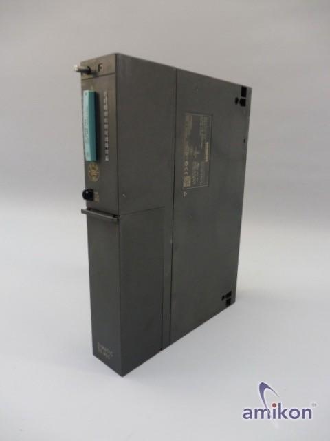 Siemens Simatic S7 Zentralbaugruppe 6ES7416-3FS06-0AB0 FS: 01 FW: V6.0.2