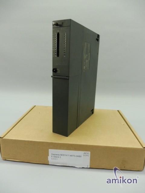 Siemens Simatic S7 Zentralbaugruppe 6ES7417-4XT05-0AB0 6ES7 417-4XT05-0AB0