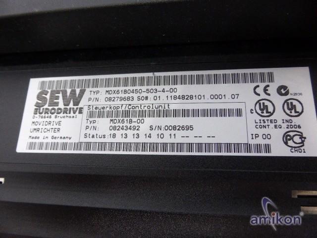SEW Movidrive Frequenzumrichter MDX61B0450-503-4-00  Hover