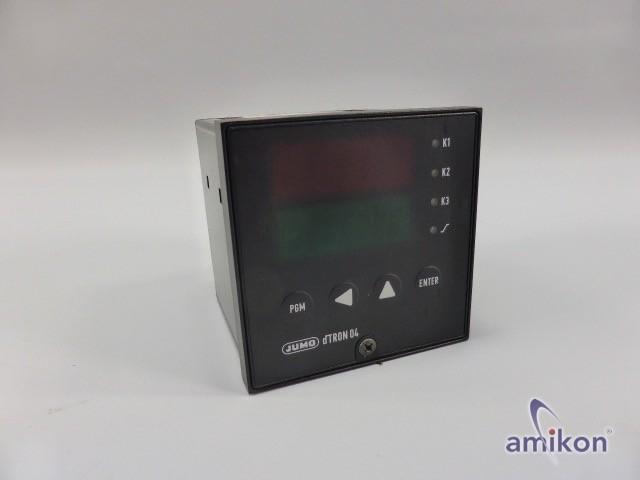 Jumo dTRON 04 Temperaturregler DTR-04/1-042-59-0
