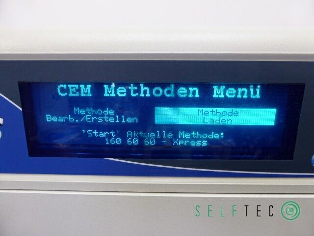 CEM MARS 5 Labormikrowelle Mikrowellenaufschlussgerät – Bild 4