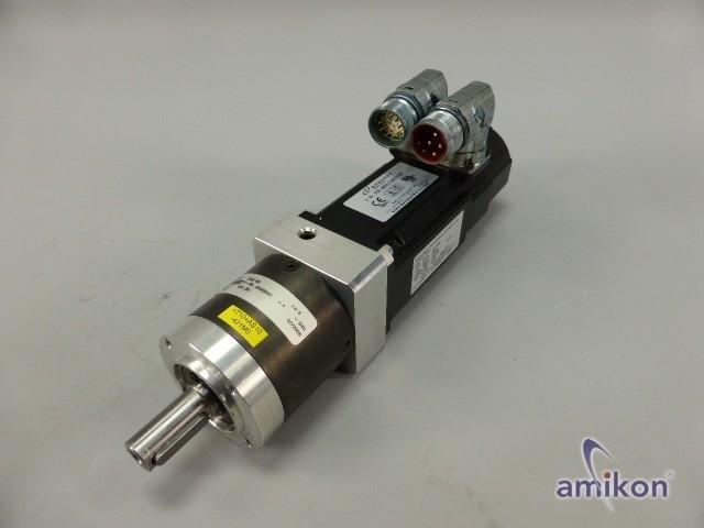 Kollmorgen Synchron-Servomotor AKM22E-ANB2R-00 mit Planetengetriebe PLE 60