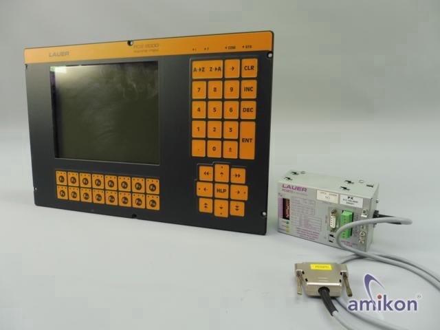 Lauer Systeme Bediengerät PCS9000 PCS 9000 mit PCS 8010 und PCS 812 S7-MPI Modul