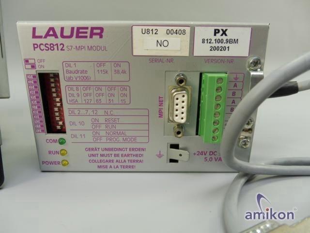 Lauer Systeme Bediengerät PCS9000 PCS 9000 mit PCS 8010 und PCS 812 S7-MPI Modul  Hover