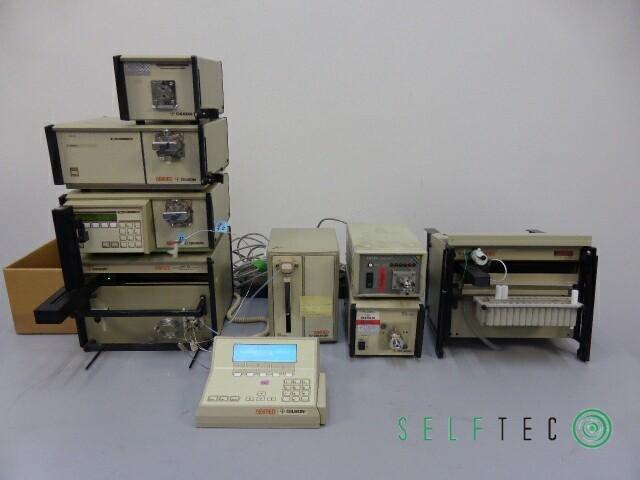Gilson ABIMED Probenvorbereitungssystem XL 201 811C 402 806 306 305 231 – Bild 1