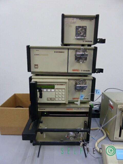 Gilson ABIMED Probenvorbereitungssystem XL 201 811C 402 806 306 305 231 – Bild 2