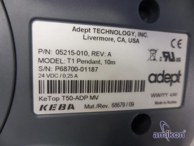 Adept Technology Roboter Programmiergerät T1 10m 05215-010 REV:A  Hover