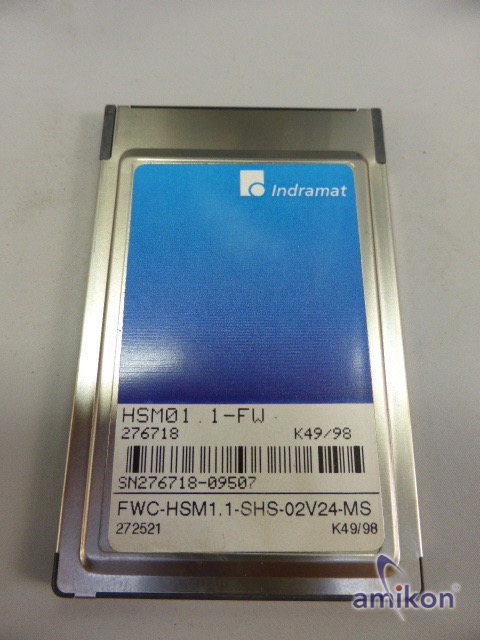 Indramat Servo Controller HDS04.1-W200N-HS37-01-FW HSM01.1-FW   Hover