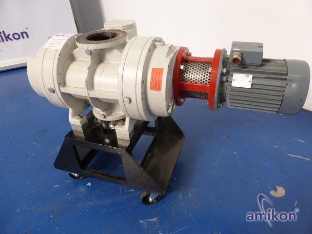 Pfeiffer Vakuumpumpe WKP 500 AM mit VEM Drehstrom-Asynchronmotor K21R90L2 TPM140  Hover