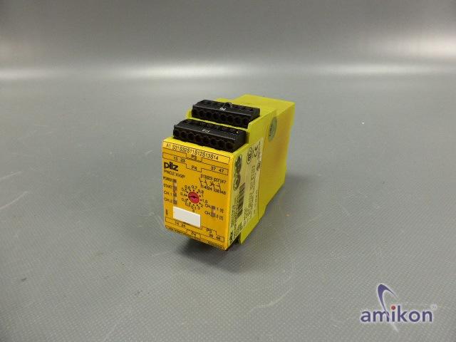 Pilz Not-Aus-Schaltgerät 3/24VDC 2n/o 2n/o t 777502