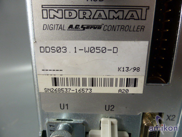 Indramat Digital Controller DDS03.1-W050-D  Hover