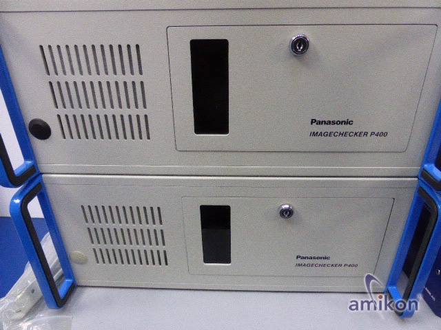 Panasonic Industrielle Bildverarbeitung Imagechecker 2x P400 mit Software neu !  Hover