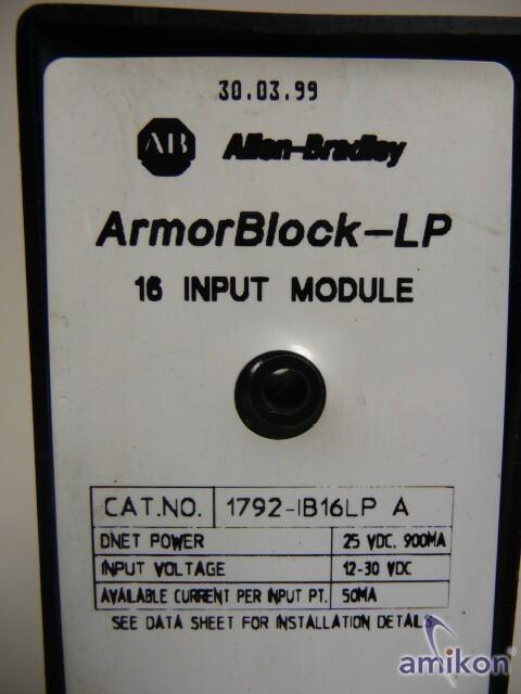 Allen Bradley ArmorBlock-LP 16 Input Module  Hover