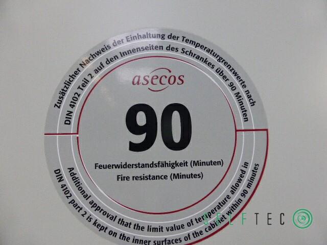 Asecos Gasflaschenschrank Sicherheitszelle G90.205.120 DIN 12925-2 TRG 280 #1 – Bild 6