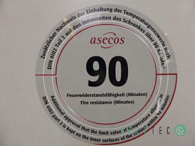 Asecos Gasflaschenschrank Sicherheitszelle G90.205.60 DIN 12925-2 TRG 280 #4 – Bild 6