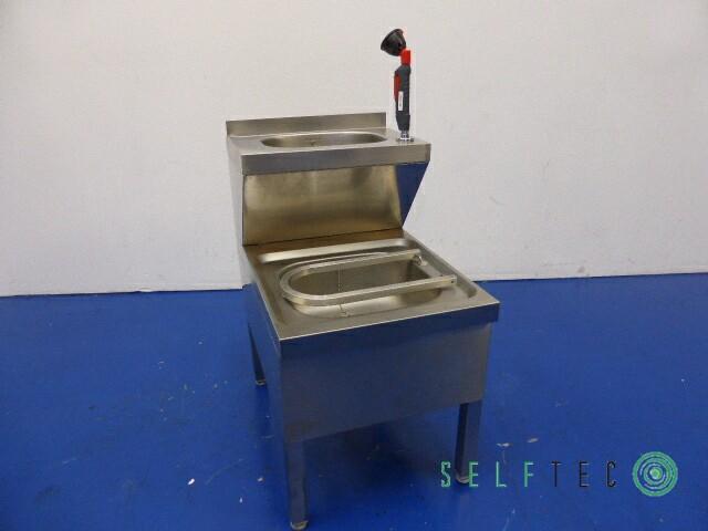 Edelstahl Ausgussbecken 500 x 700 mm Waschbecken  – Bild 1