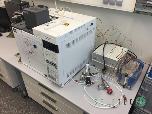 Agilent Gas Chromatograph 7890A G3440A GC System – Bild 2