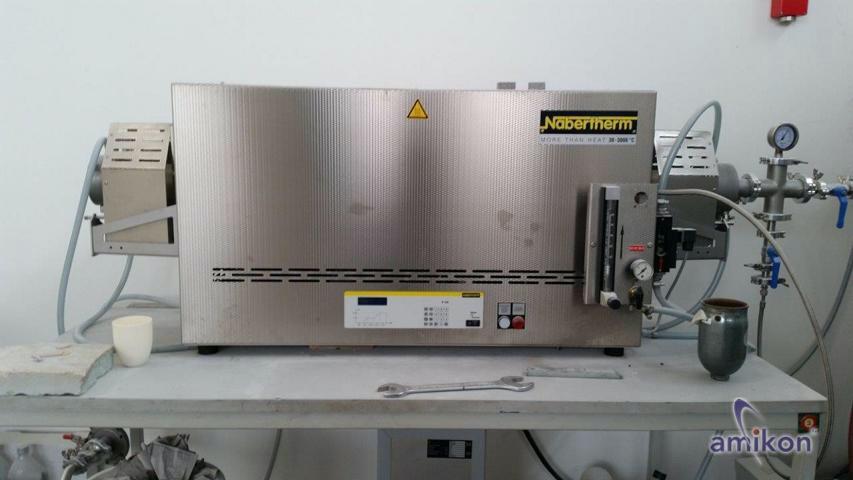 Nabertherm Rohrofen mit SiC-Beheizung und Vakuumpumpe RHTC 80-710/15 Tmax 1500°C