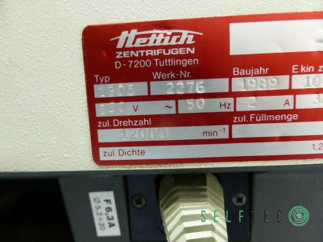 Hettich Tischzentrifuge Mikro Rapid/K – Bild 8