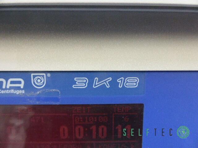Sigma Kühlzentrifuge 3K18 Zentrifuge – Bild 4