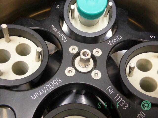 Sigma Kühlzentrifuge 3K18 Zentrifuge – Bild 7