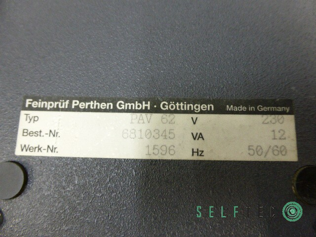 Mahr Perthometer Concept Oberflächenmessgerät PAV-CV PRK PST-Se – Bild 7