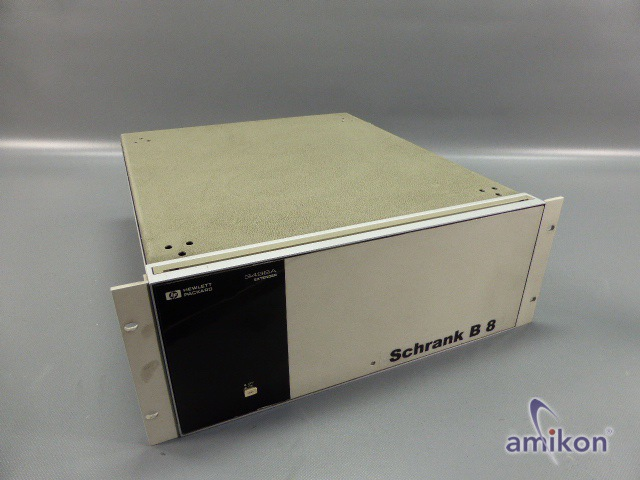 HP Hewlett Packard Datenerfassung 3498A (1) 2641A06528