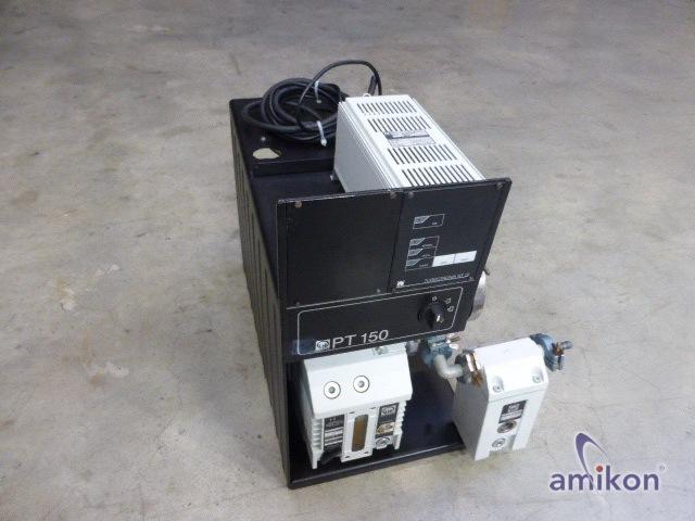 Vakuum Pumpstation mit Elektronische Frequenzwandler Turbotronnik NT 10 und  D4B
