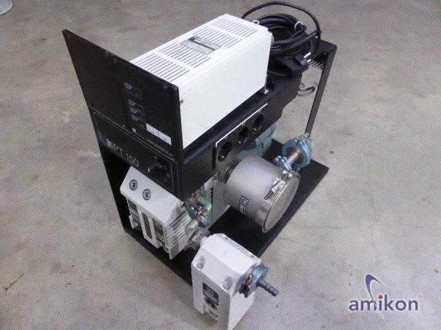 Vakuum Pumpstation mit Elektronische Frequenzwandler Turbotronnik NT 10 und  D4B  Hover