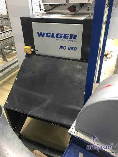 Welger Kanalballenpresse RC 660 mit Brück Absaugung für Papierrandstreifen