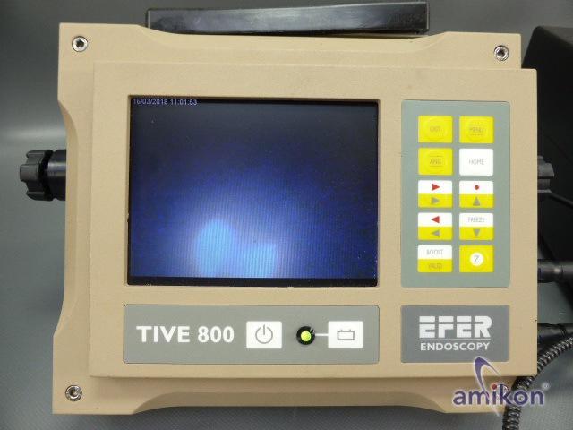 EFER ENDOSCOPY für Lange Längen mit TIVE 800 u. ARGUS 800 Sonde Videoendoskopie  Hover