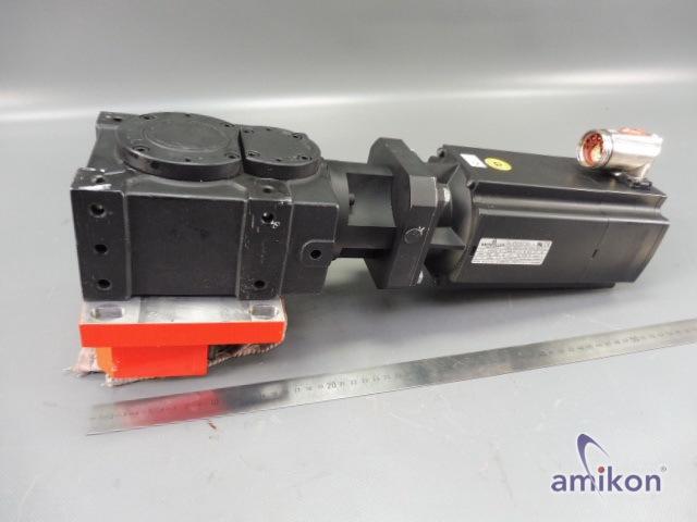 Baumüller Servomotor DSCG 056 S64U38-5 UL mit Vogel Getriebe 299 659 8  Hover